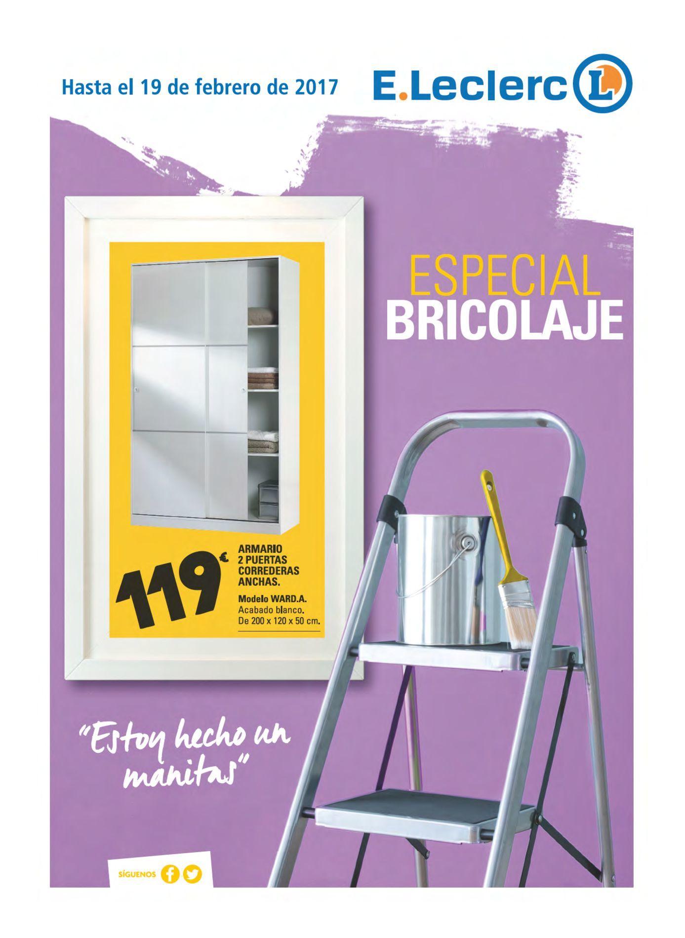 E leclerc especial bricolajee leclerc lugo hipermercado for Leclerc brochure