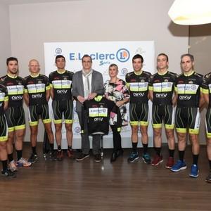E.leclerc Soria con E.leclerc cycling team