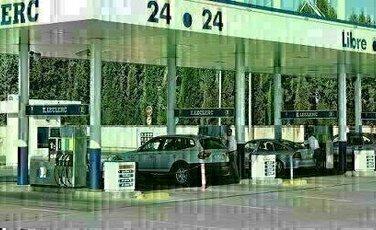 Sidebar gasolinera valdemoro