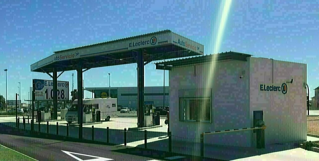 Show preserved gasolinera5 murcia