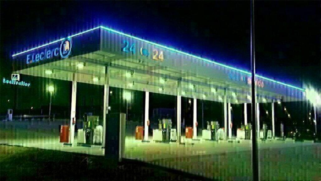 Show preserved gasolinera e.leclerc valdemoro rompecubas