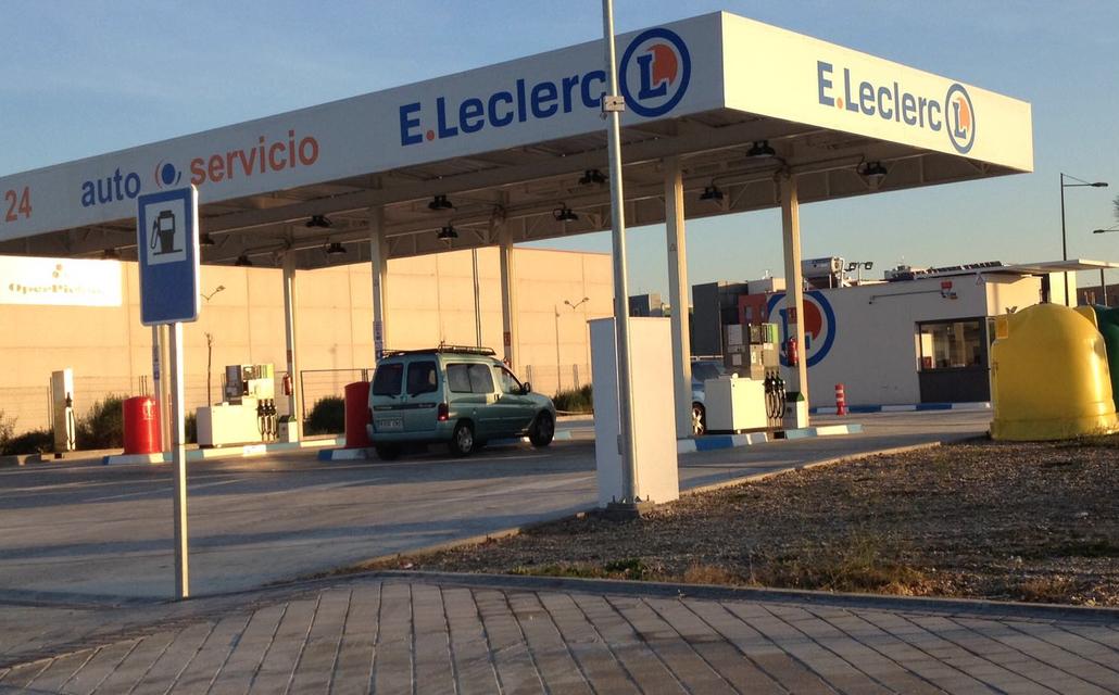 Gasolinera E. Leclerc Parla, Madrid