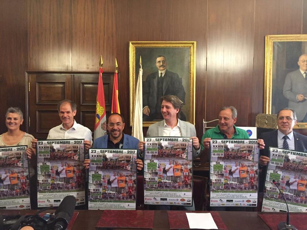 Rueda de prensa  XVII Carrera Abel Antón