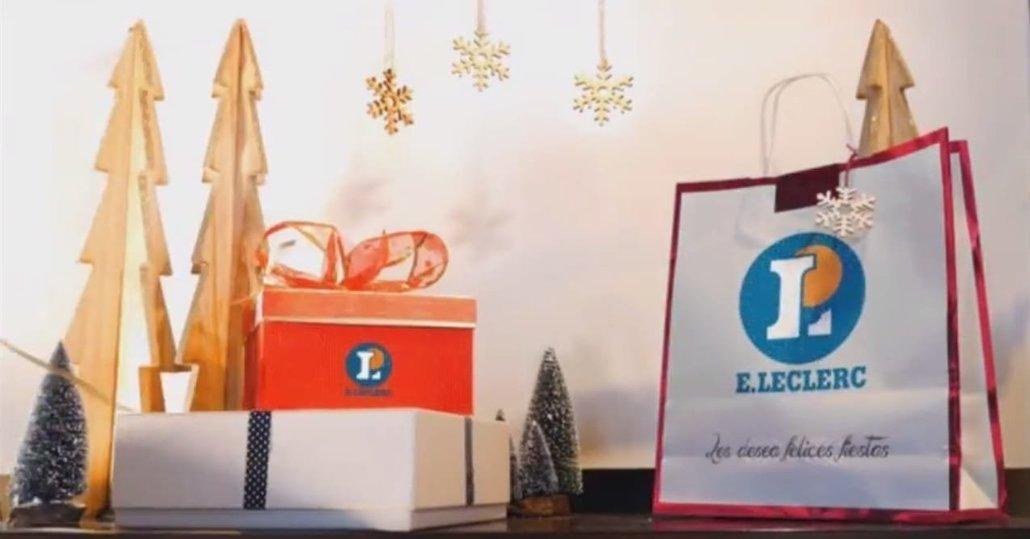 E.Leclerc León felicita la Navidad a sus clientes