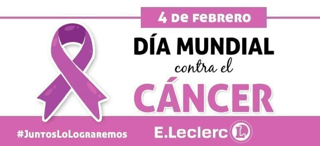 E.Leclerc muestra su apoyo en la lucha contra el cáncer