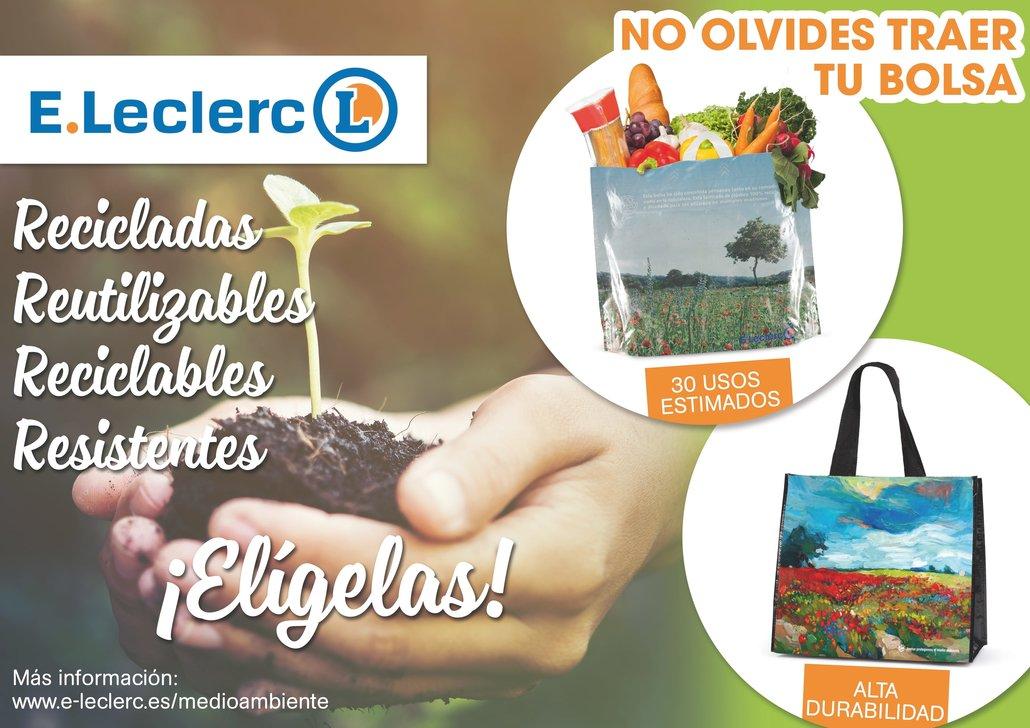 Juntos protegemos el medio ambiente E.Leclerc