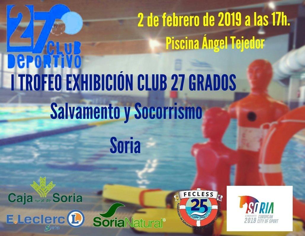 I Trofeo Exhibición Salvamento y Socorrismo
