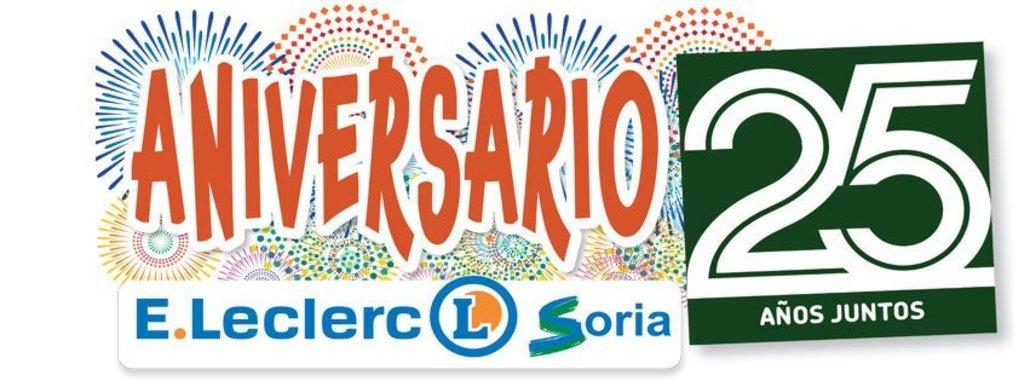 25 ANIVERSARIO E.LECLERC SORIA