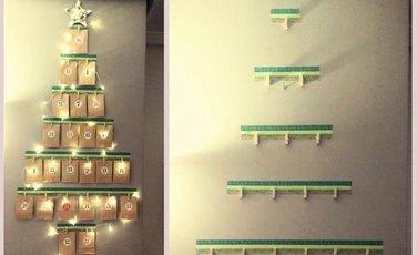 Sidebar 81rbol de navidad calendario de adviento diy
