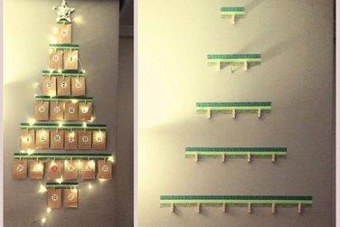 Sidebar preserved 81rbol de navidad calendario de adviento diy