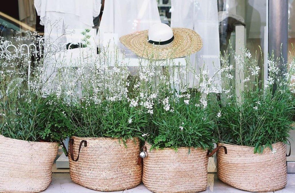6 fantásticas ideas para decorar con cestas que te inspirarán