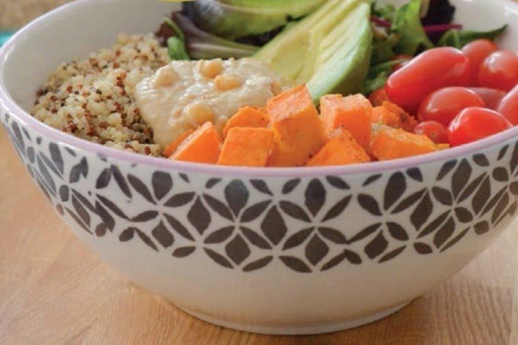 Receta de buddha bowl salado