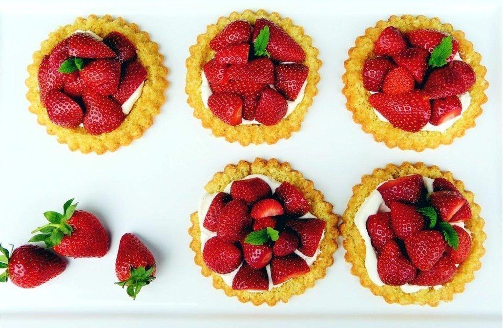 Cómo hacer tartaleta de fresas o fruta